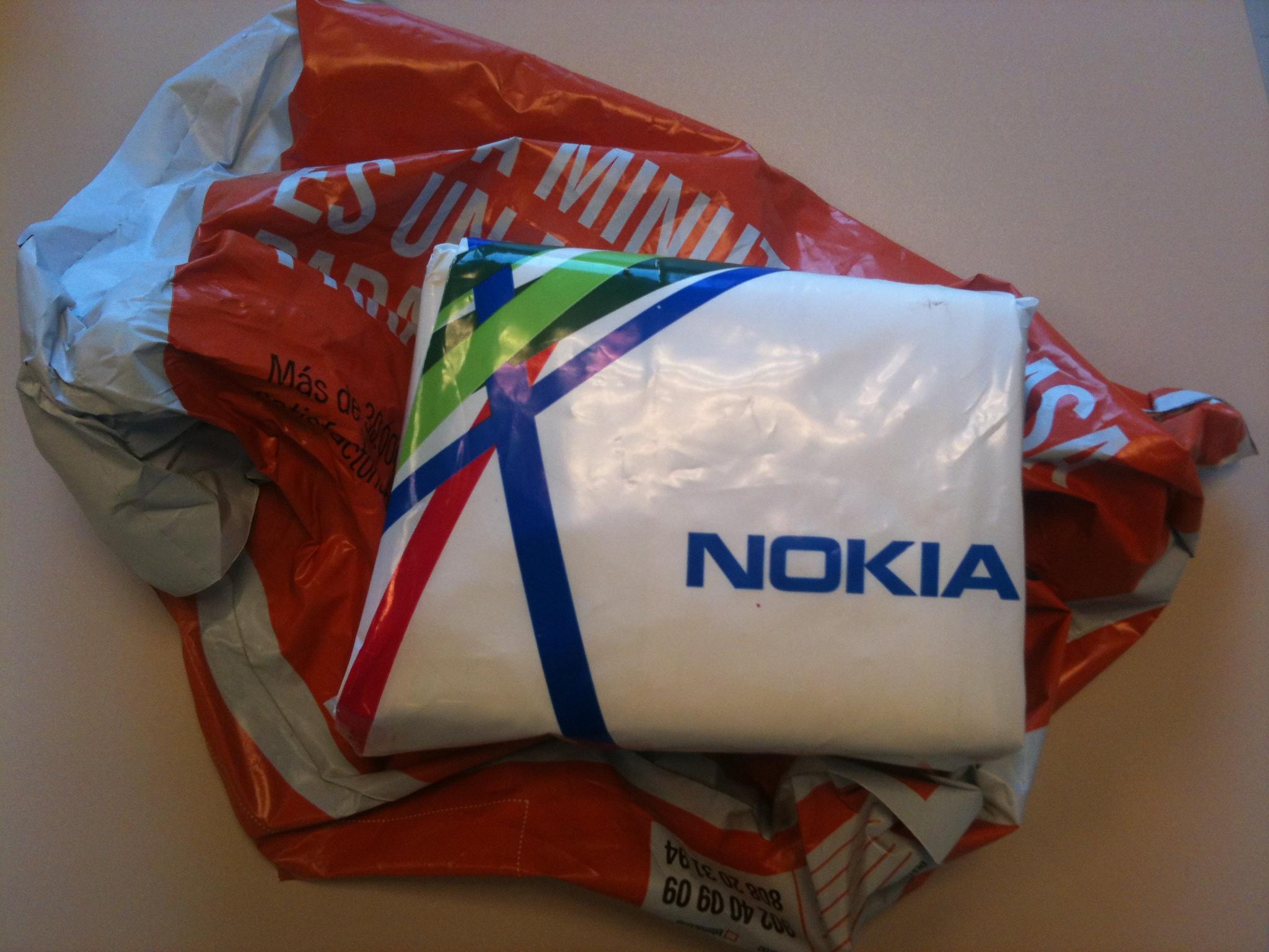 Primer contacto con el Nokia Lumia #pruebaWP
