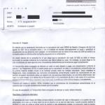 Carta de AESA