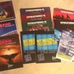 Mi colección de catálogos de Expoelectrónica (90, 91, 92, 93, 94, 95, 96 y 2004)