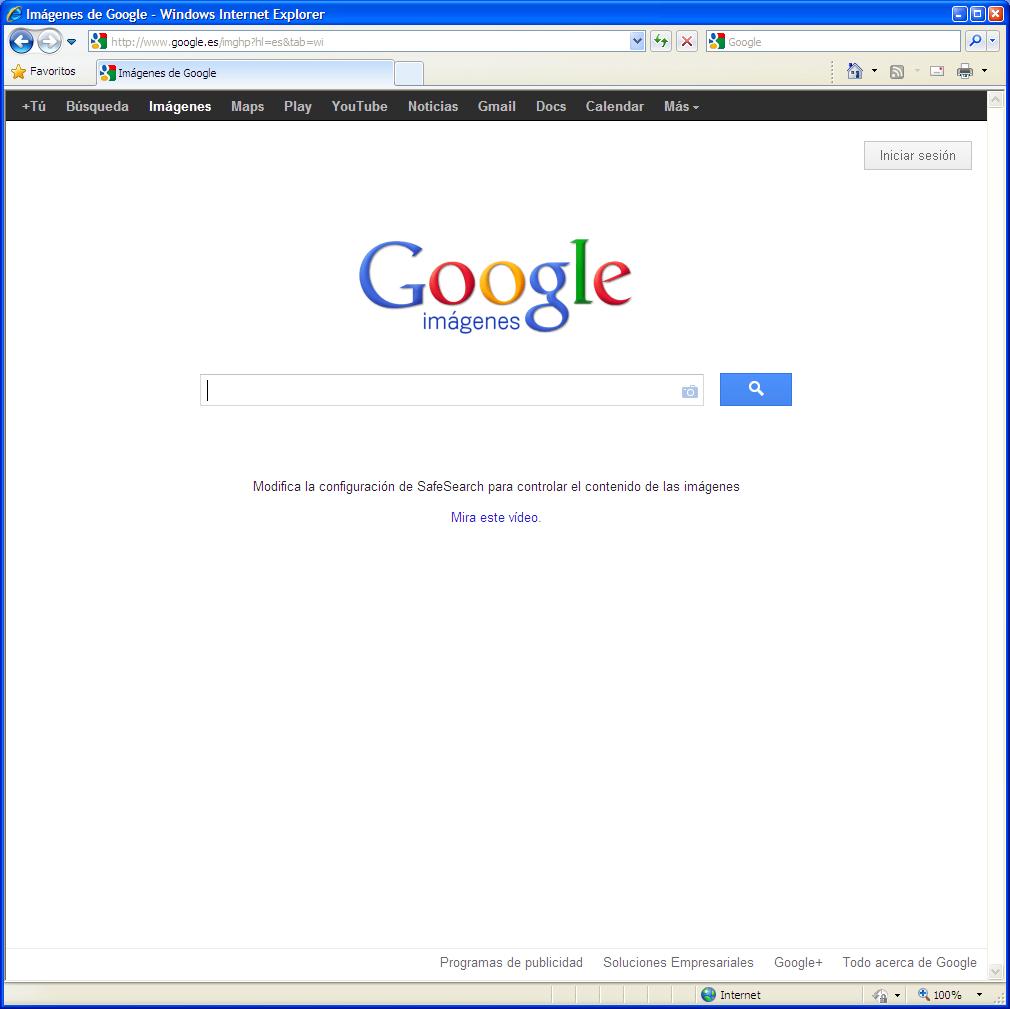 Buscando imágenes en Google de manera rápida y exacta