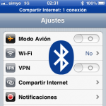 iPhone compartir Internet