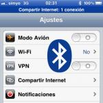 Compartir la conexión a Internet del iPhone por Bluetooth con otros dispositivos (y ahorrar batería)