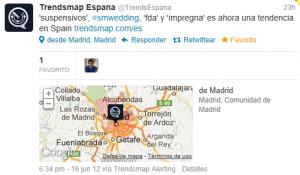 TT_#SMWedding_de TrendsMap