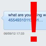 Cuidado con los mensajes directos (DMs) raros en Twitter
