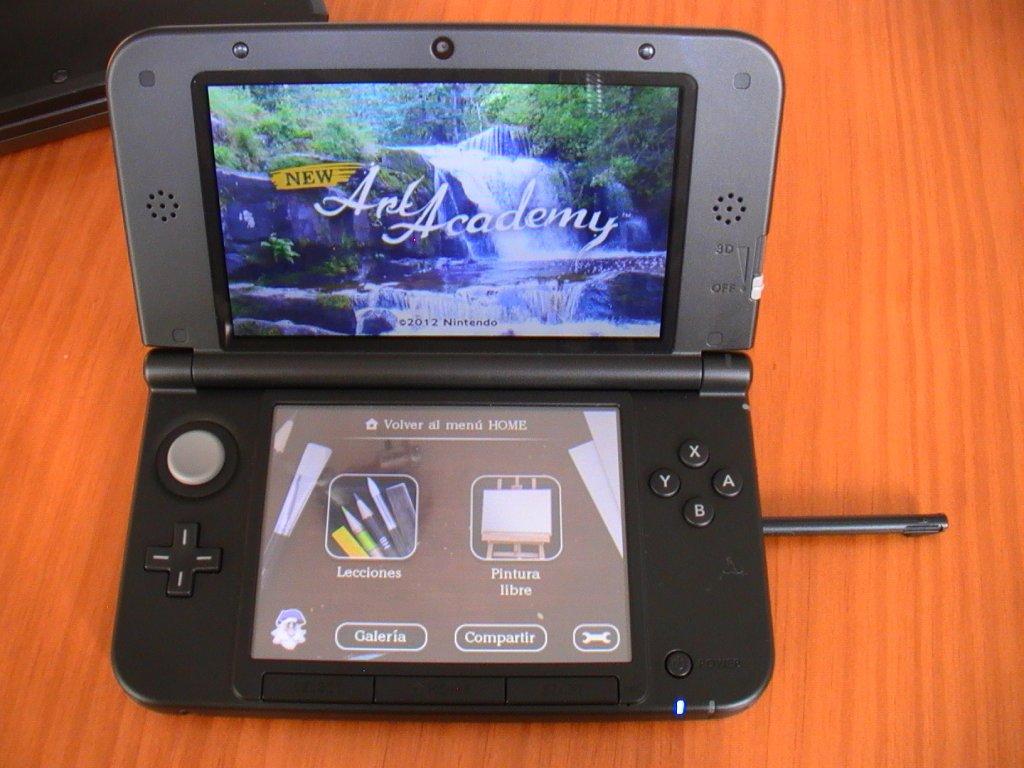 Probando una Nintendo 3DS XL
