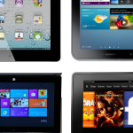 Tabletas iPad Samsung Galaxy Tab 2 Microsoft Surface Kindle Fire