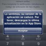 WhatsApp no va en un iPhone 3G