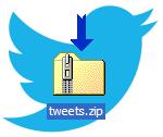 Así es el fichero que se descarga de Twitter con todos los tuits #Twitter [Actualizado]
