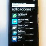 Windows Store en Nokia Lumia 920