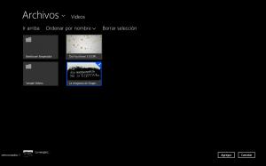 Copiar un vídeo a un Lumia 820 con Windows Phone 8