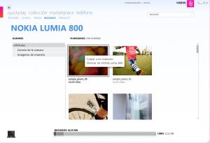 Copiar de Nokia Lumia a Zune