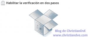 Verificación en dos pasos de Dropbox