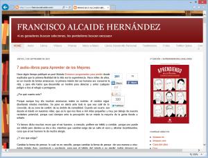 Blog de Francisco Álvarez Alcaide