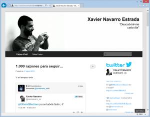 El blog de Xavi Navarro