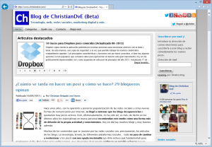 Blog de Christiandve