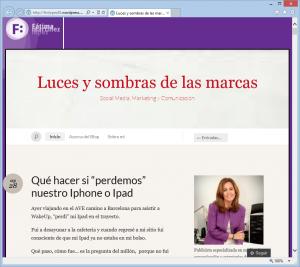 Blog de Fátima Martínez López - Luces y sombras de las marcas