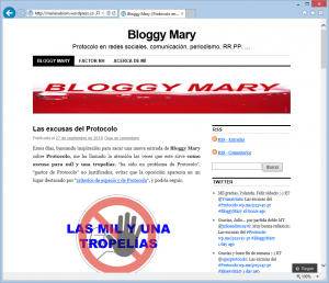 Blog de María Rubio