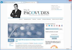 Blog de Paco Viudes