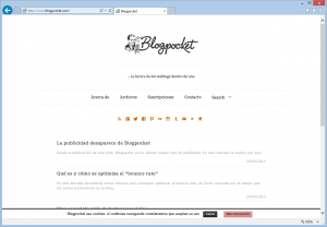 Blogpocket, blog de Antonio Cambronero