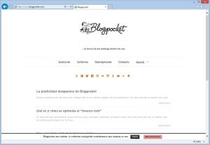 Blogpocket, blog de Antonio Cambronero