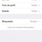 Ajustes de privacidad en el iPhone