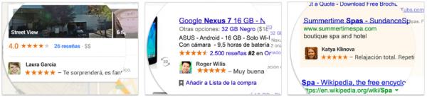 Anuncios de Google con la cara y nombre de los usuarios a los que les gusta