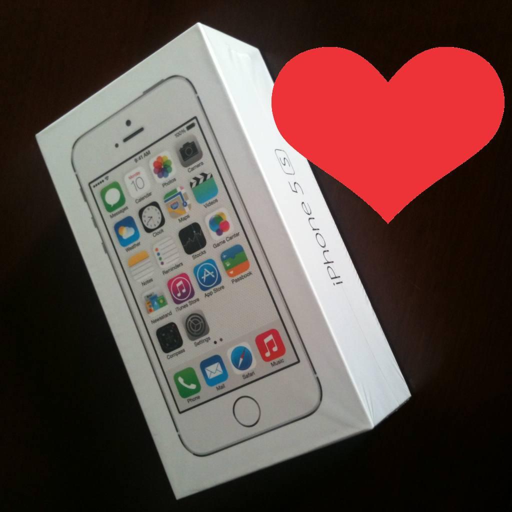 Iniciando una nueva relación con un… iPhone 5S #unboxing
