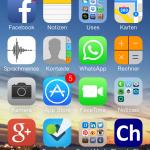 iPhone de Christian Delgado von Eitzen (o sea, yo)