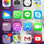 iPhone de Fidel Martín