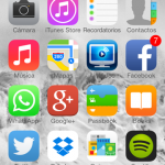 iPhone de Javier Sanz