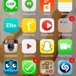 iPhone de María Redondo