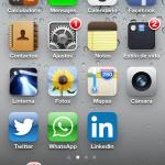 iPhone de Mercedes Gutiérrez de Terán