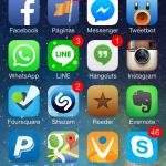 iPhone de Vilma Núñez