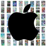 Pantalla de inicio de iPhone y apps más usadas de 82 usuarios de redes sociales