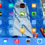 iPad de Manuel Chorén