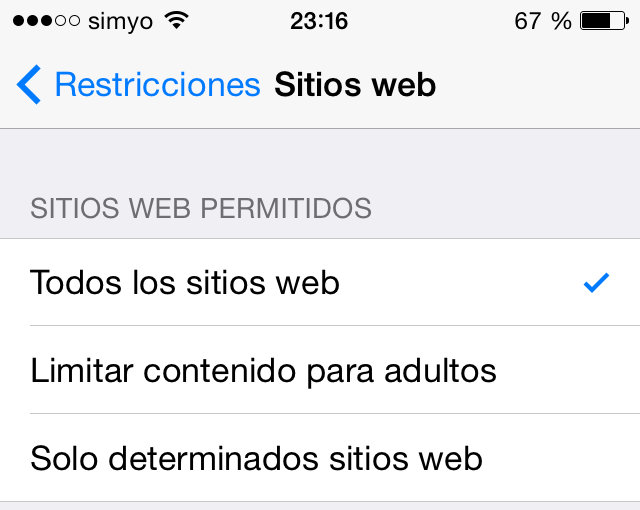 Listas de sitios web de videos para adultos