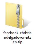 Fichero con todos los datos de Facebook