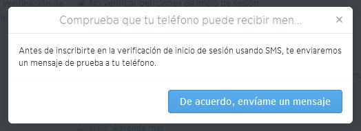 Mensaje de Twitter: comprueba que tu teléfono puede recibir SMS de Twitter