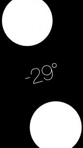 """Nivel (""""oculto"""" en la app de brújula) de iOS 7 y posteriores"""