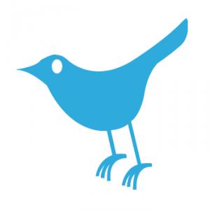 Twitter - Logotipo del pájaro en 2006