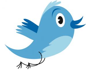 Tercera versión del pájaro de Twitter