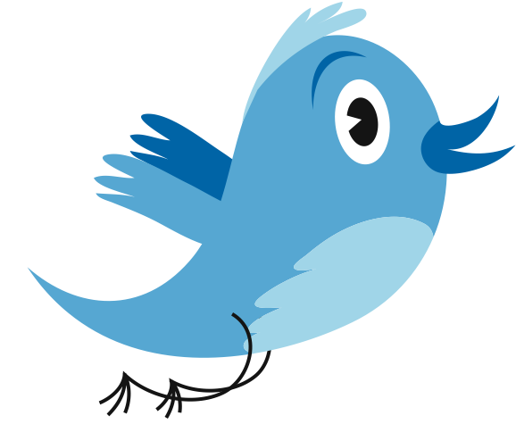 Twitter: Evolución del logo y ¿cómo se llama el pájaro? | Blog de ...