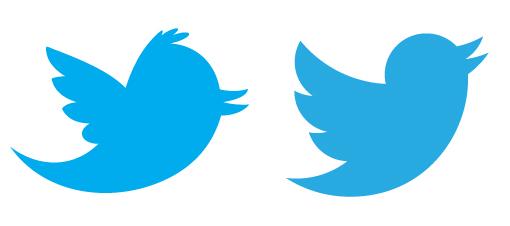Comparativa de la imagen de Twitter cuarta versión frente a la quinta