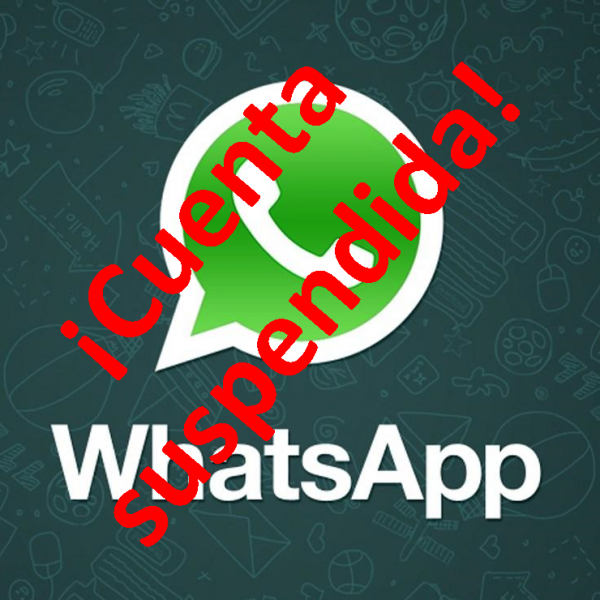 Whatsapp Cuenta suspendida