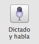 Dictado y habla en Mac OS X