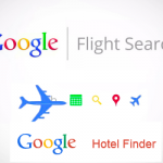 Google Flight search y Google Hotel Finder
