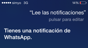 Siri, lee las notificaciones