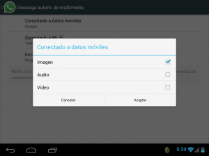 Android: Descarga de elementos multimedia