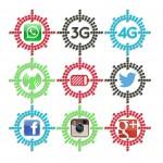 Ahorrar batería y datos móviles en Facebook, Twitter, WhatsApp, Google+ e Instagram. iOS y Android