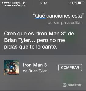Siri, ¿Qué canción es esta?